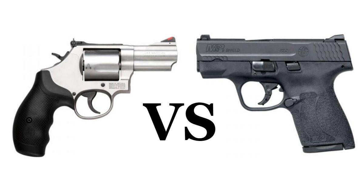 Revolver vs Semi Auto Handgun