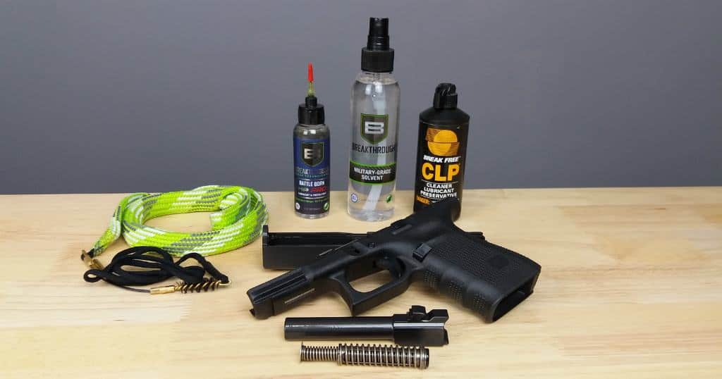 How To Clean A Handgun