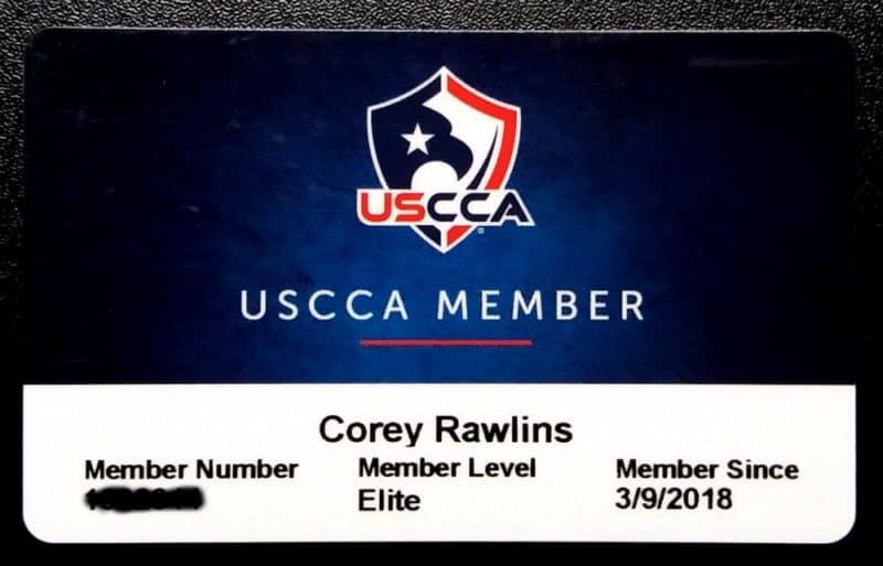 USCCA Membership Card