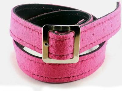 Pink Fuzzy Belt