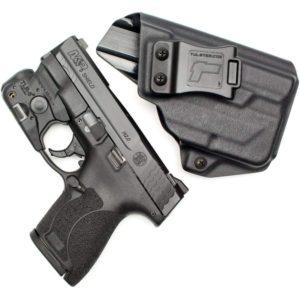 Gun with Light Holster
