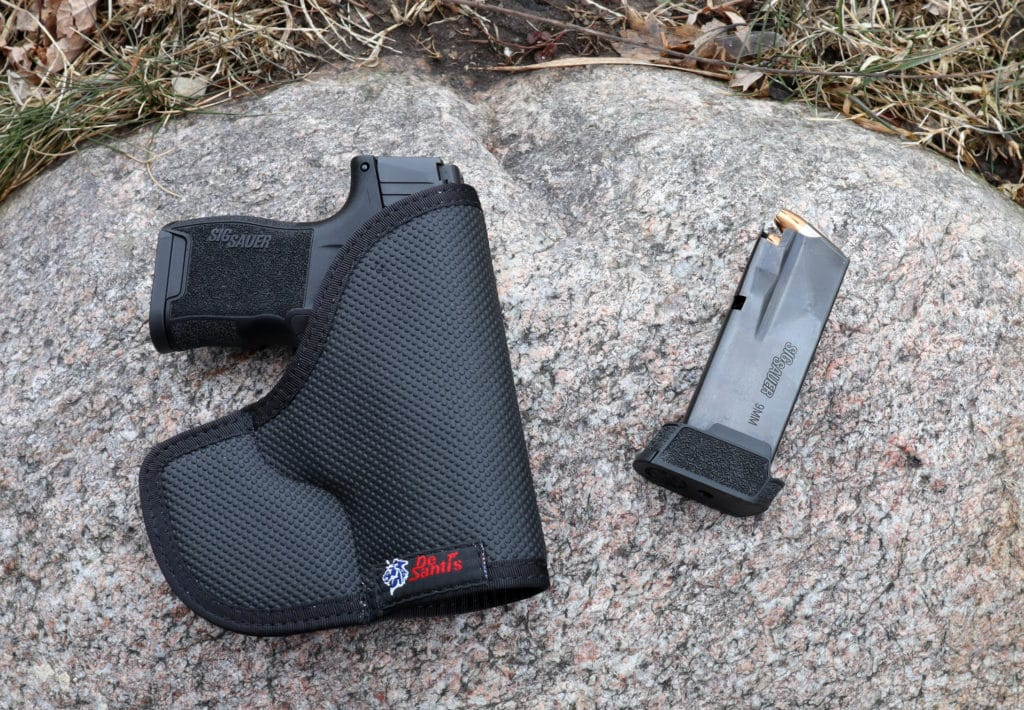 Pocket Carry Holster with Spare Mag