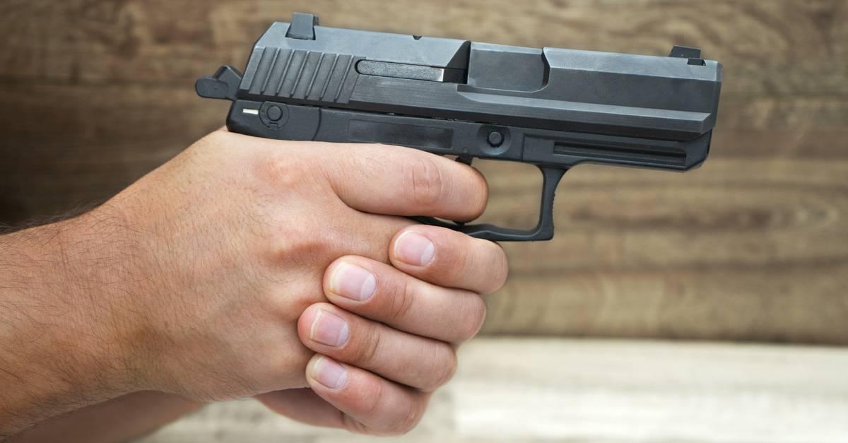 Dry Fire Pistol Training