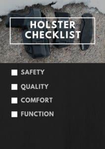 Holster Checklist